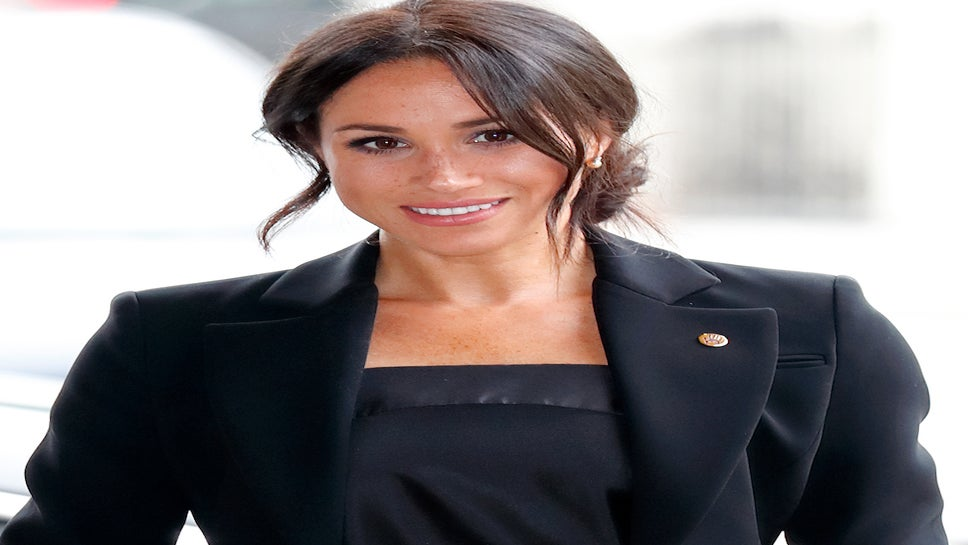 Now We Know Meghan Markle's First Solo Charity Project As A Royal