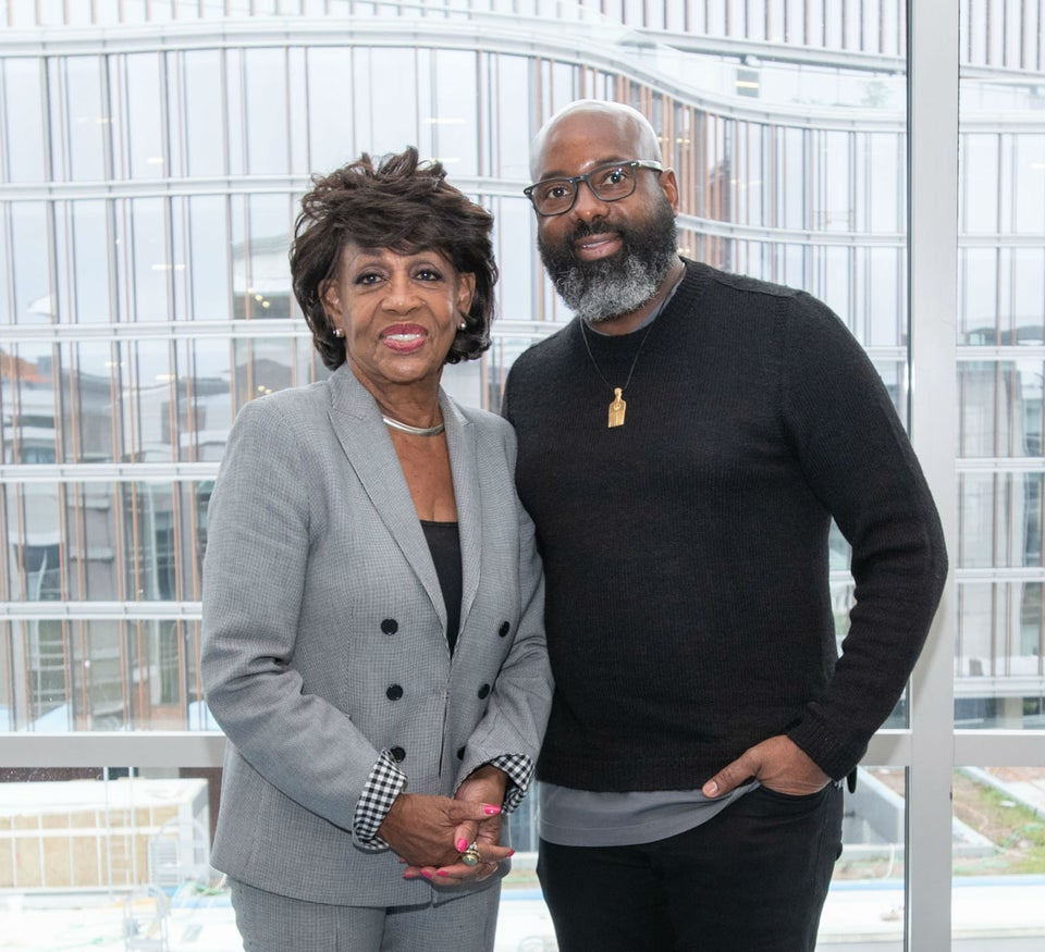 Maxine Waters and CEO of Essence Ventures Richelieu Dennis Discuss Black Purchasing Power