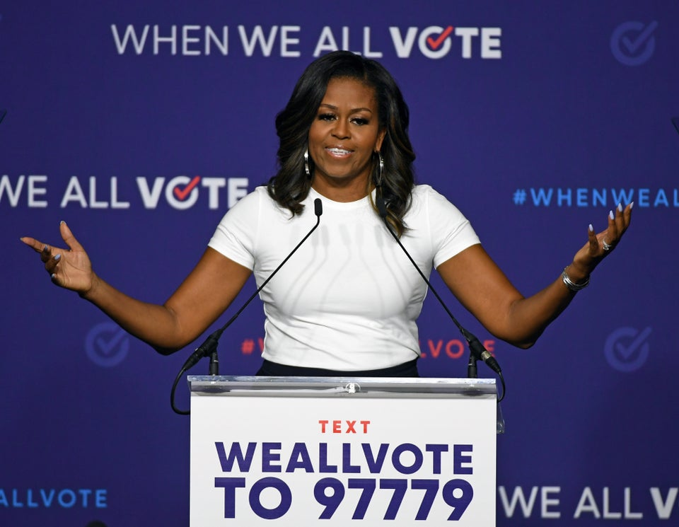 Michelle Obama Wants To Remind Everyone About #NationalVoterRegistrationDay