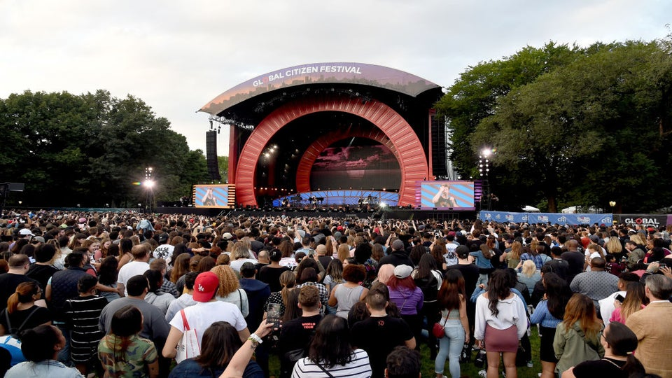 Panic Arises At Global Citizen Festival As Concert Goers Mistake Crash For Possible Gunshots