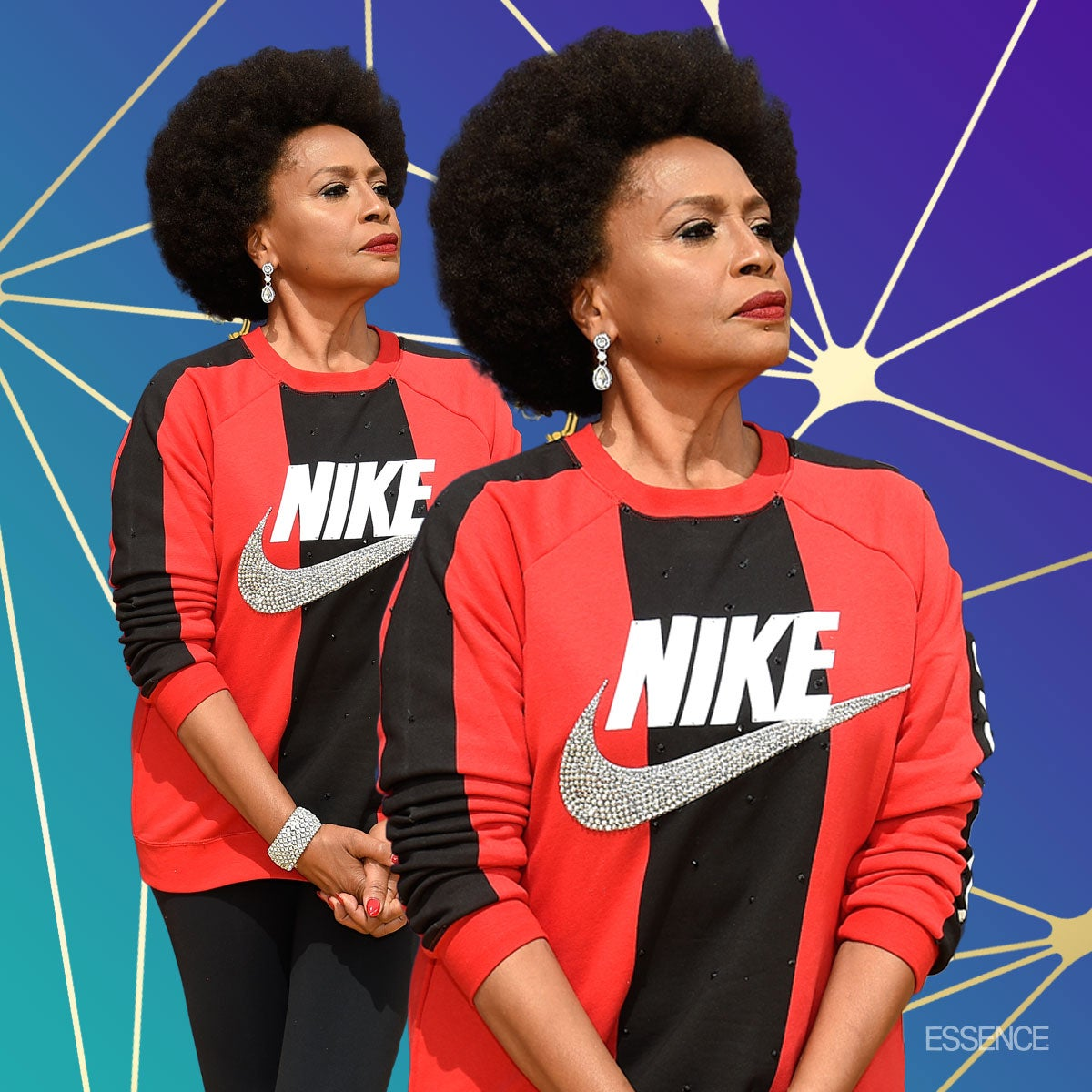 d3883fd091166 Jenifer Lewis Wears Nike On Emmys Red Carpet To Support Colin Kaepernick