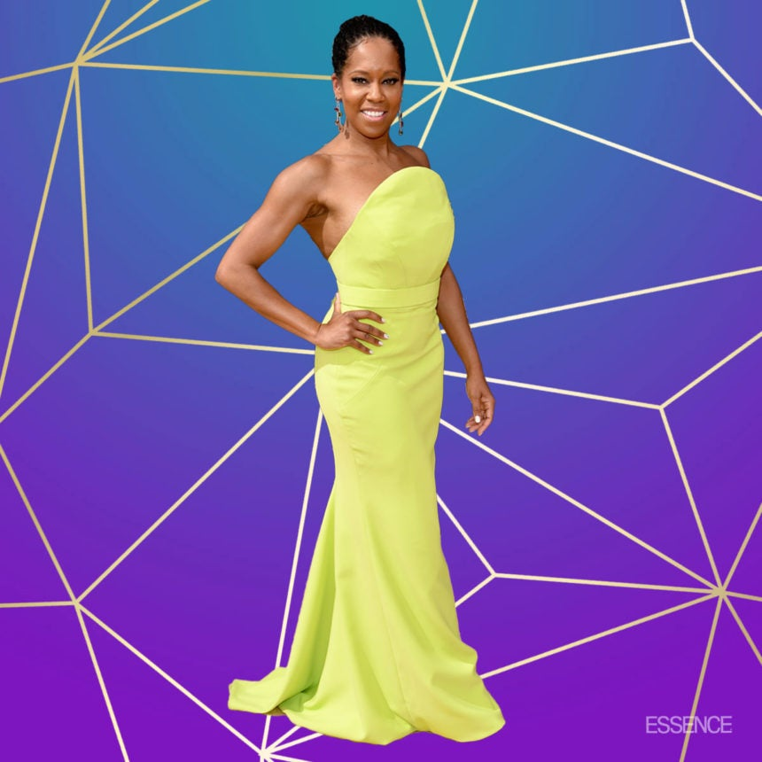 Regina King Says 'Wow, Wow, Wow' After Hearing She's Oscar-Nominated