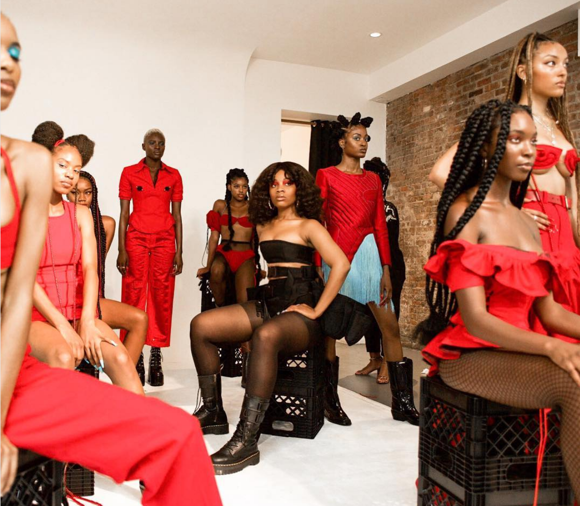 Shanel Campbell's NYFW Debut Was Black-ity Black In Every Aspect