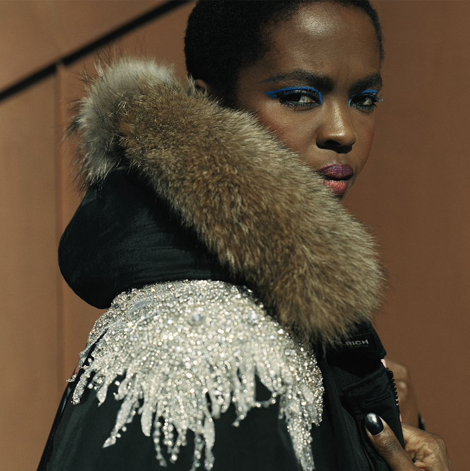 Lauryn Hill 'Doo-Wops' Her Thing For Debut New York Fashion Week Collection