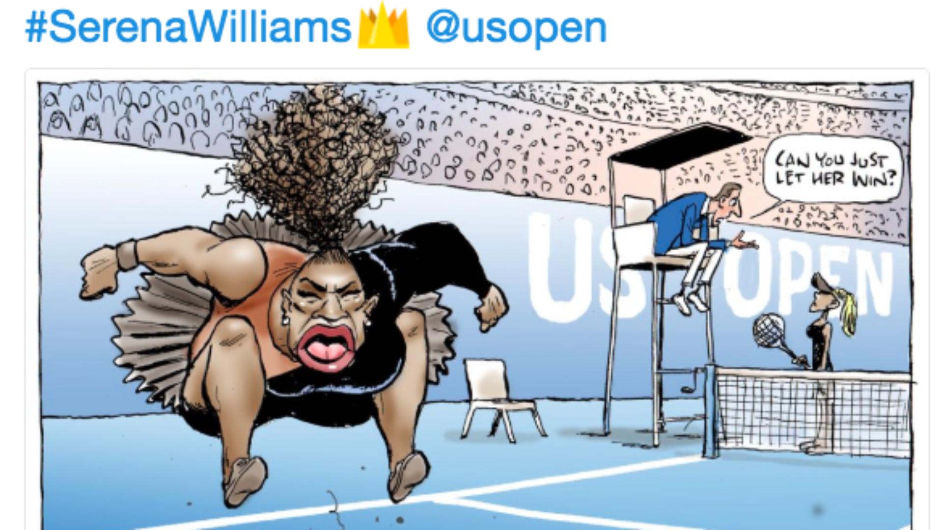So…About Mark Knight's Racist Serena Williams Cartoon