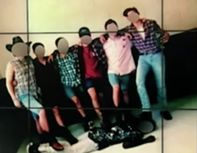White Students In Alabama Took a Photo Standing on the Back of a Black Student