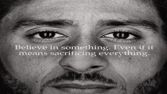 Colin Kaepernick's Nike Ad Has A Lot Of People In Their Feelings