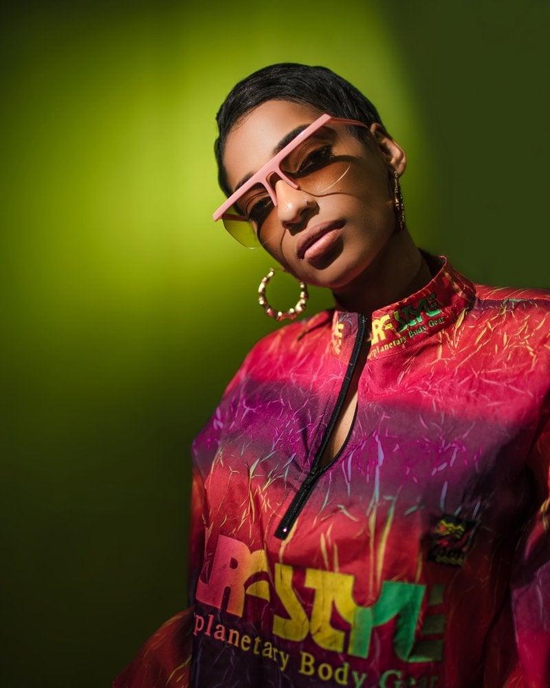'Granddaughter Of Hip Hop' LeA Robinson Designs New Line Of Sunglasses