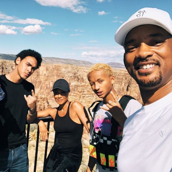 Will Smith Dives Into 50 Over The Grand Canyon