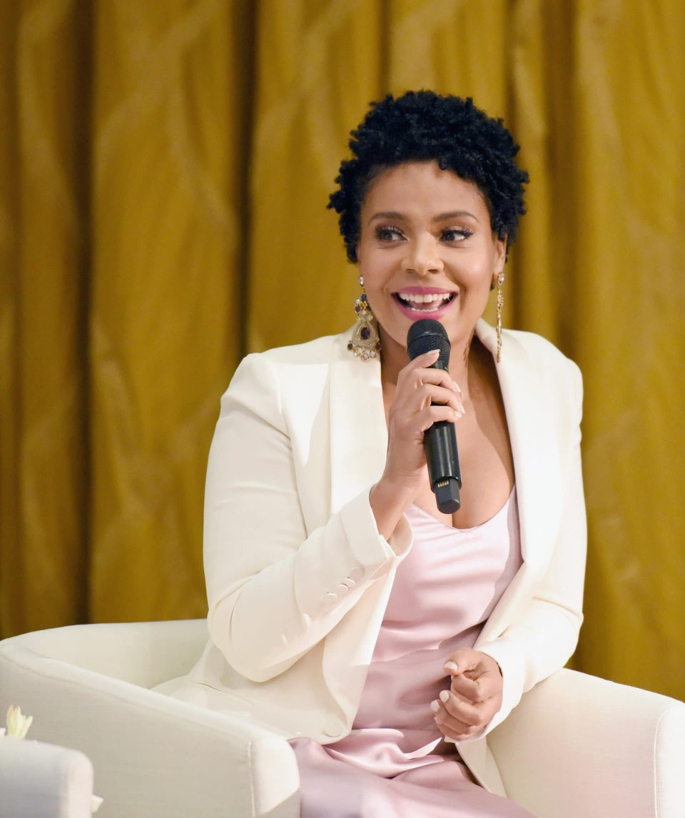 Sanaa Lathan Shares What it Means to 'Lead Like a Woman' at Ralph Lauren Event