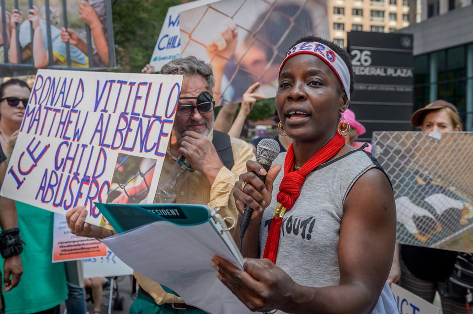 Protester Therese Okoumou Convicted Of Misdemeanor Charges After Climbing The Base Of Statue Of Liberty
