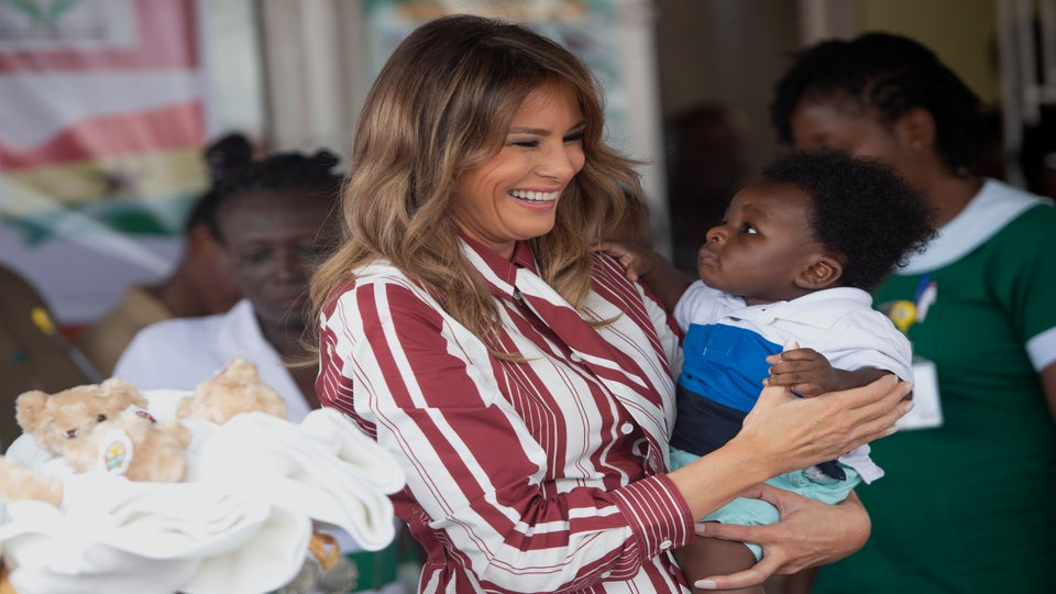 Africa, You In Danger, Girl: Melania Trump Starts Solo Africa Trip