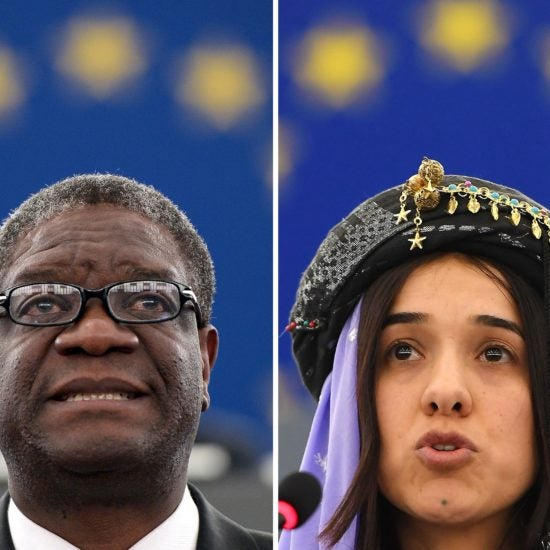 Denis Mukwege And Nadia Murad Win Nobel Peace Prize For Their Work Against Sexual Violence