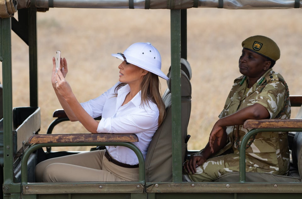 Is This Another Fashion Faux-Pas By First Lady Melania Trump?