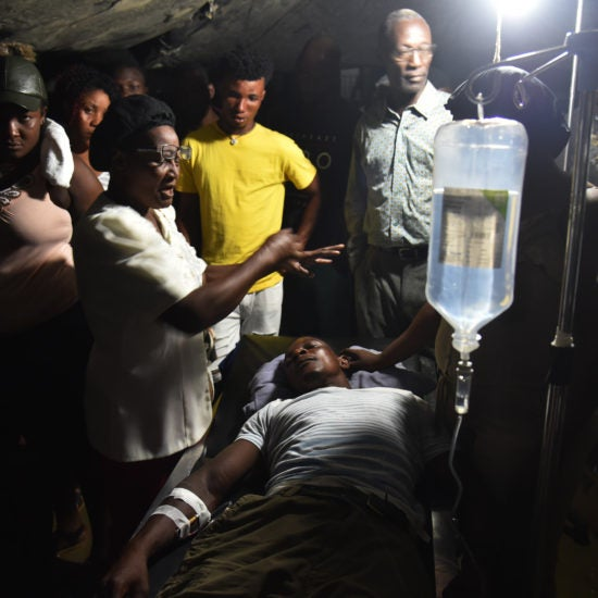 At Least 12 Dead Following Earthquake In Haiti