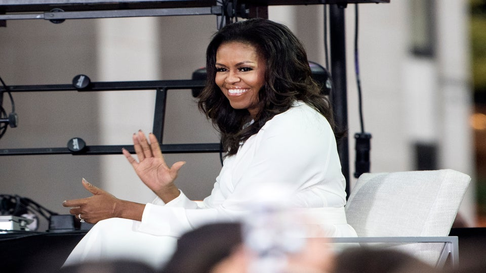 On International Day Of The Girl, Michelle Obama Reminds Us To Keep Fighting