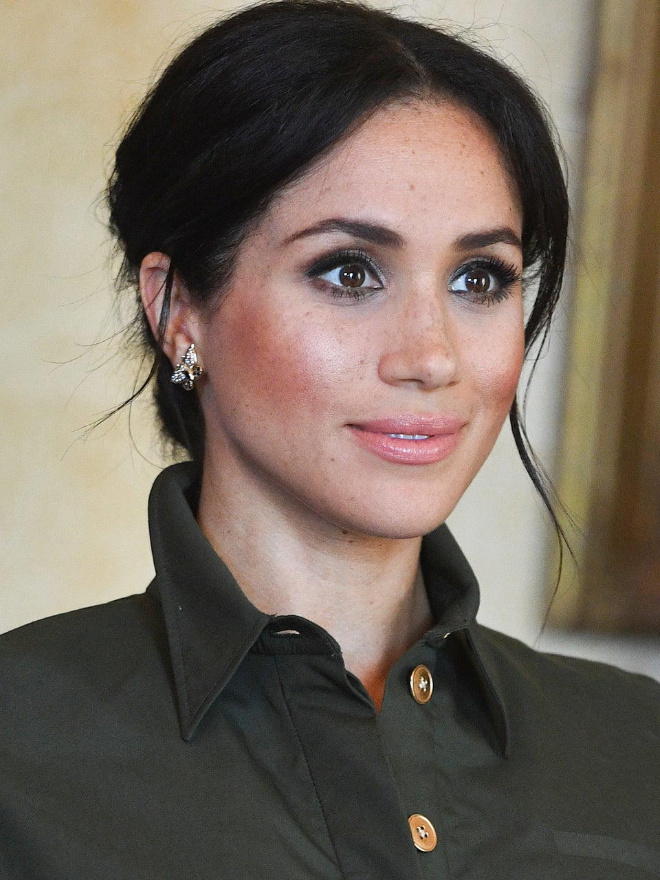 Meghan Markle Solidifies Baby Announcement By Wearing Princess Diana's Jewels