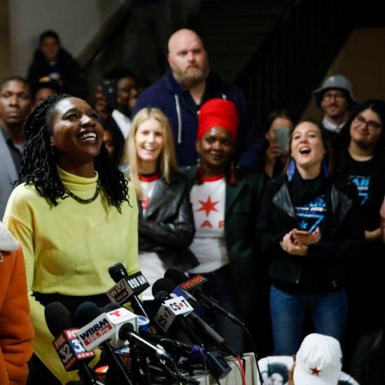 Kanye West Donates $73,540 To Chicago Mayoral Candidate Amara Enyia