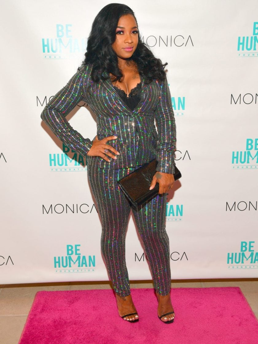 Toya Wright Has A Word For Online Trolls Poking Fun At Her Infant Daughter