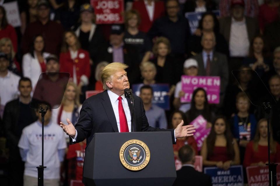 President Donald Trump Admits: 'I'm A Nationalist!'
