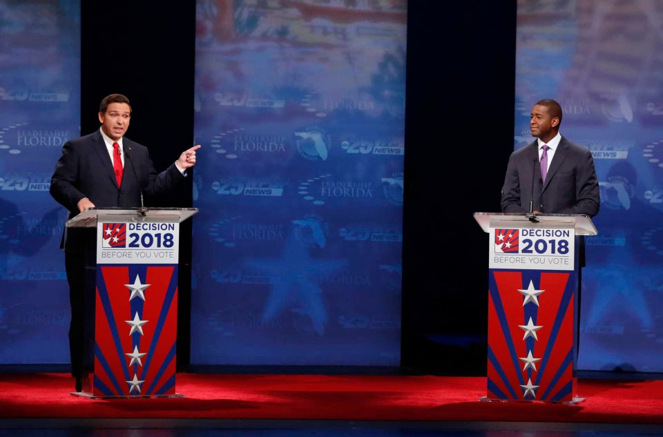 Andrew Gillum Did Not Come To Play With Ron DeSantis During Florida Gubernatorial Debate