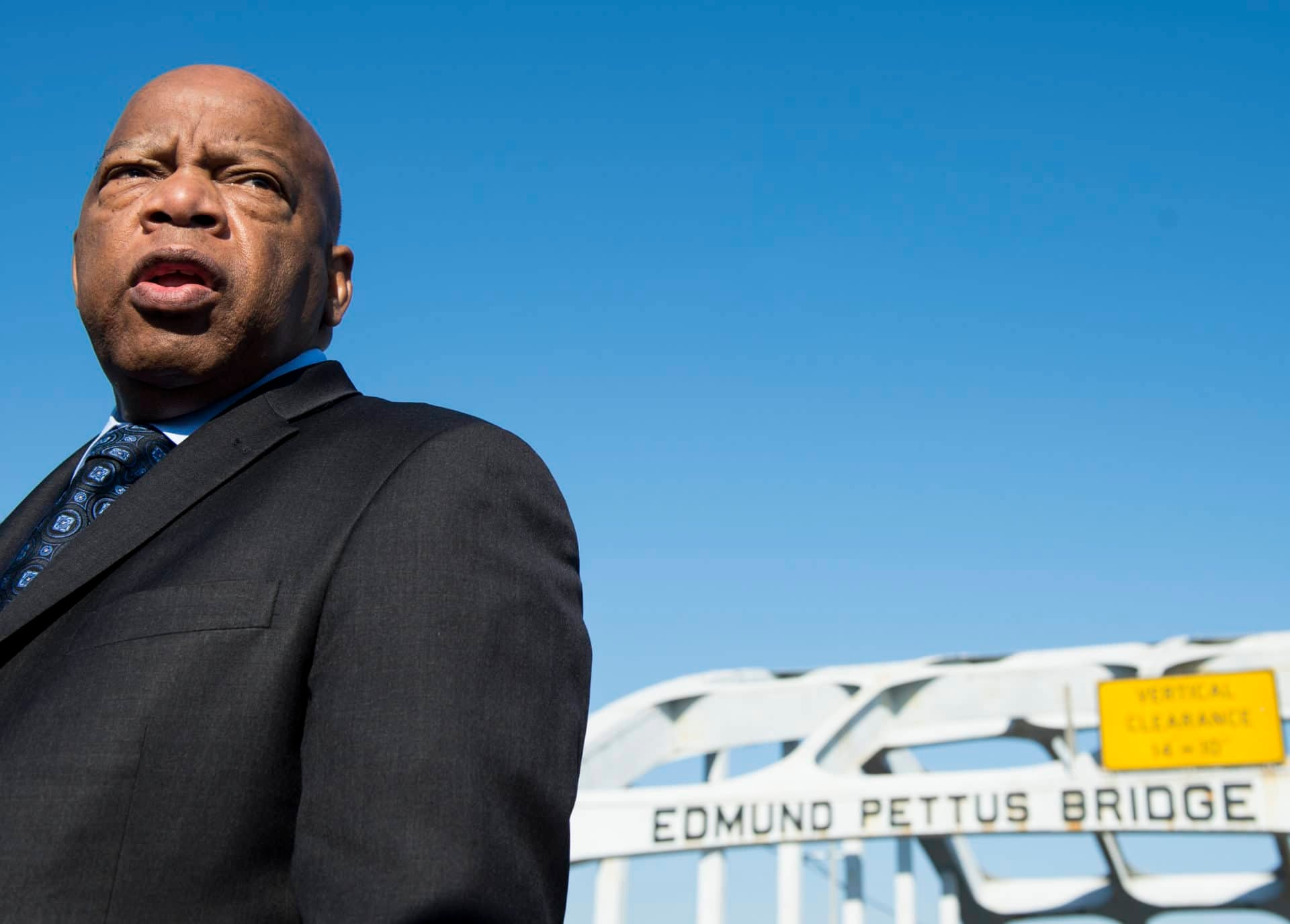 Rep. John Lewis, Real Life Icon, Reminds Us Why It's Important To Vote