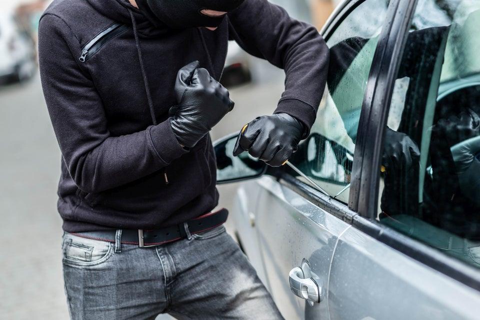 Racist Thieves Vandalize Black Family's Car
