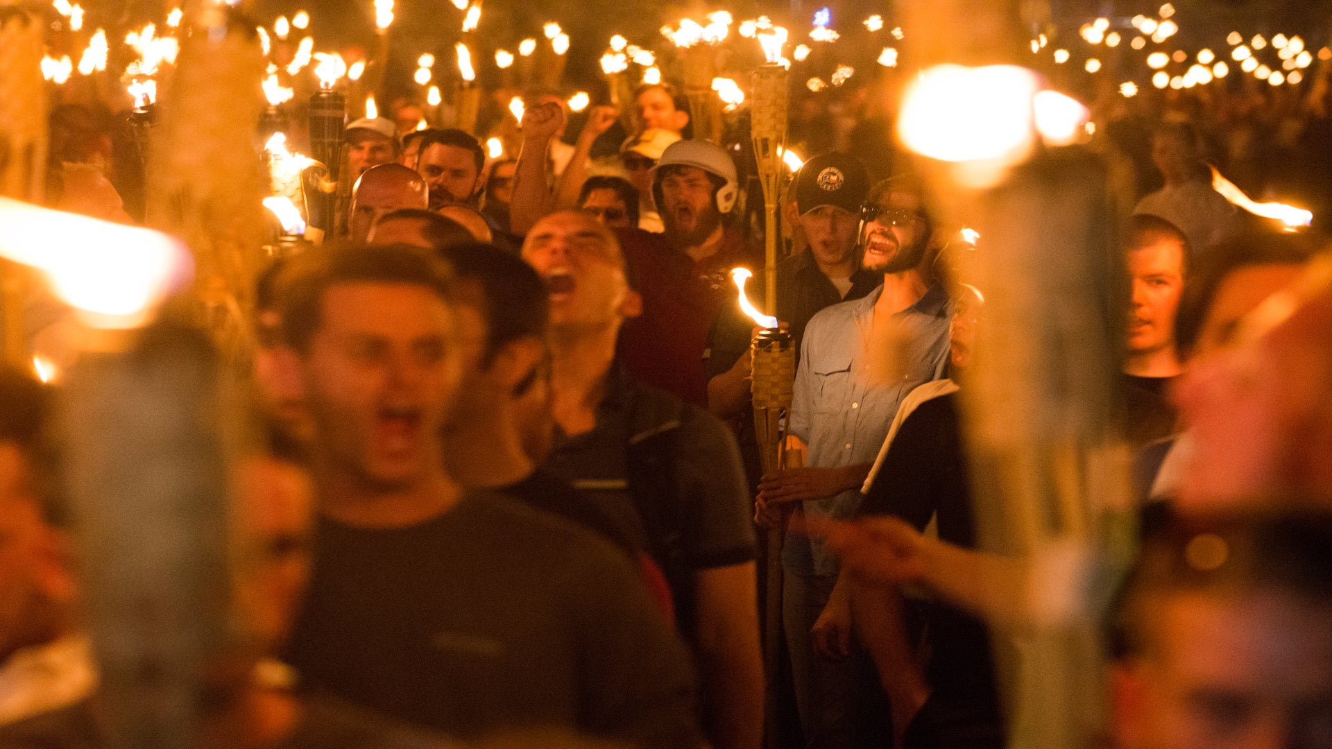 4 Alleged White Supremacists Charged With Rioting At Deadly Unite The Right Rally