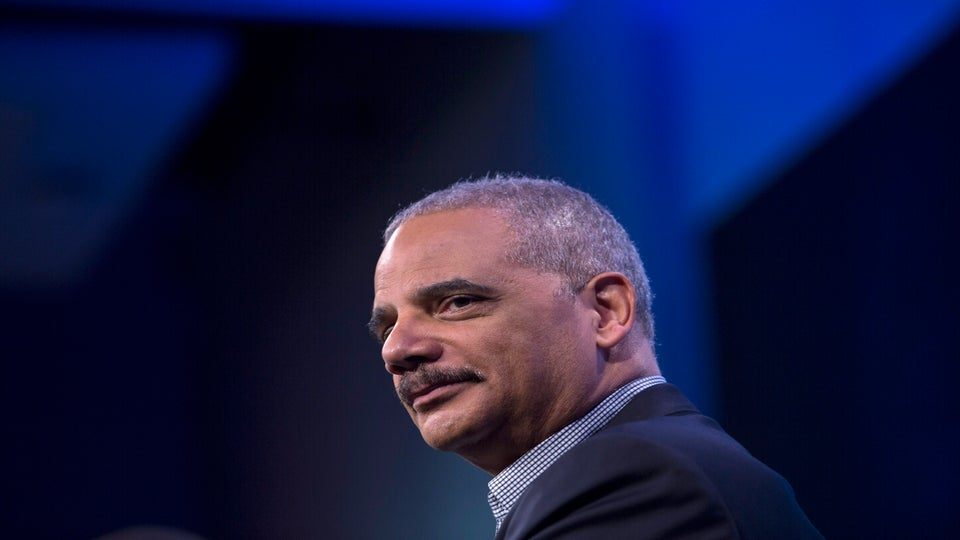 Eric Holder Revises Famous Michelle Obama Quote: 'When They Go Low, We Kick Them'