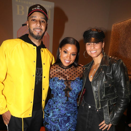 Swizz Beatz, Mashonda Tifrere, Alicia Keys, and More Celebs Out and About