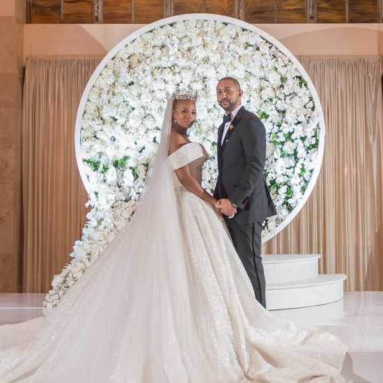 Inside Eva Marcille's $350,000 Fairy-Tale Wedding