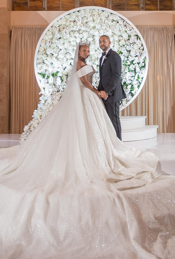 Eva Marcille Addresses Criticism Of Her $1,000 Per Person Wedding: 'I Paid For My Own Wedding'