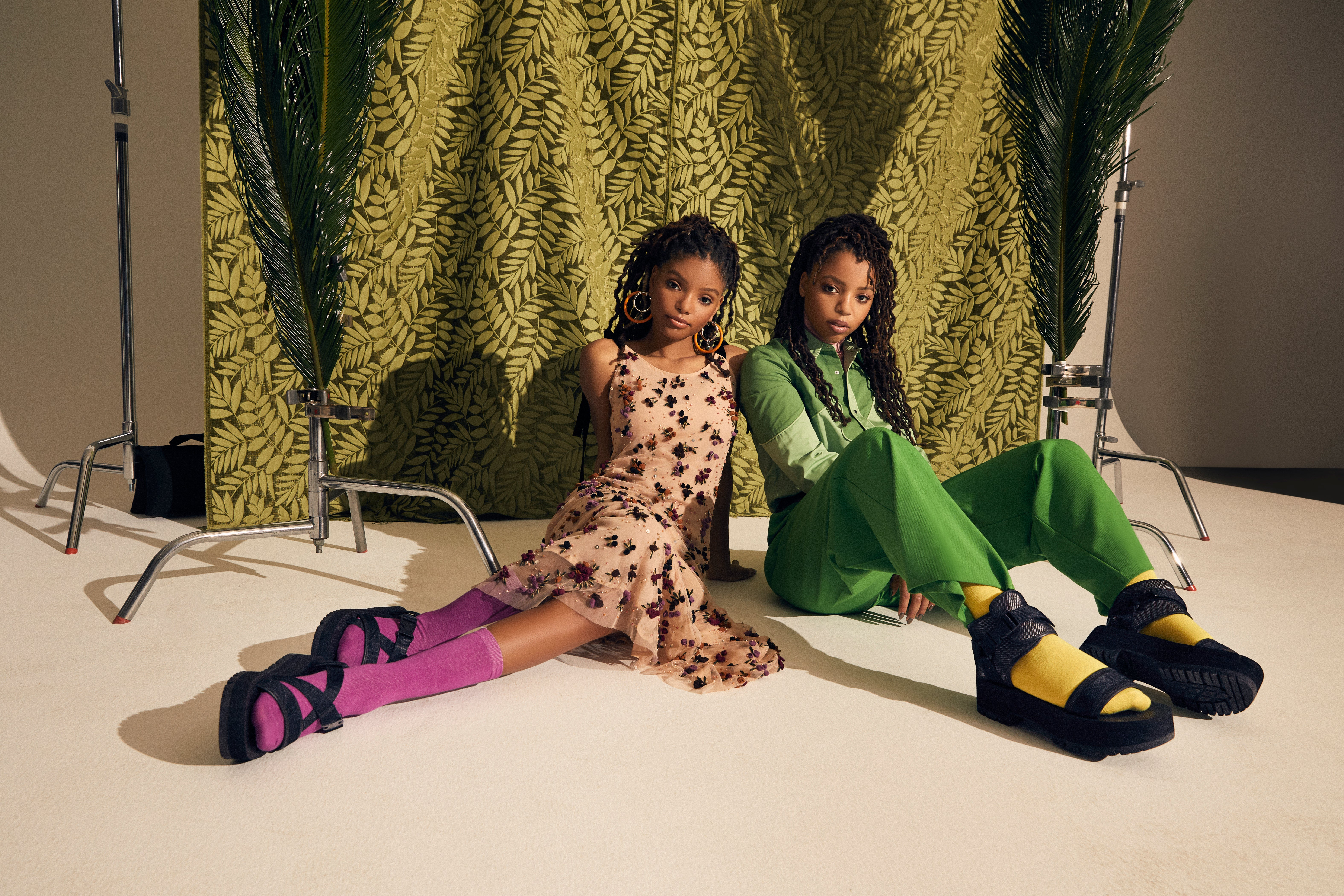 Chloe x Halle's Teva Shoe Collaboration Is Everything