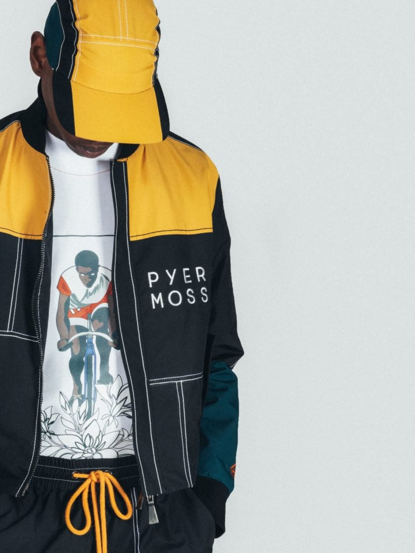 Hennessy Partners With Pyer Moss For New Collection Highlighting The First Black Sports Champion