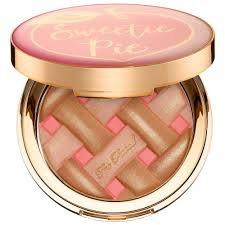 ShopUSAIndia TOO FACED Sweetie Pie Radiant Matte Bronzer – Peaches and Cream Collection - COLOR: Sweetie Pie Radiant Matte Bronzer - Radiant finish