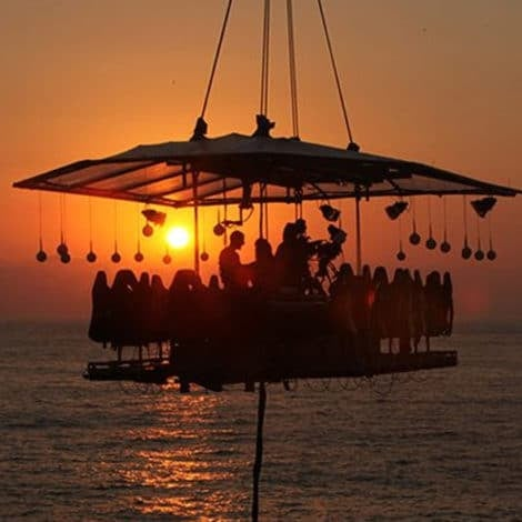 Dinner In The Sky, Anyone? 7 Unique Dining Experiences Around The World You Just Have To Try