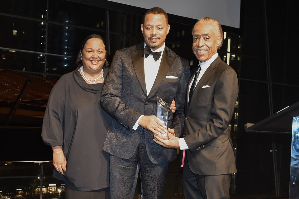 Terrence Howard, Michelle Ebanks, Jeffrey Wright And Starbucks COO Rosalind Brewer Honored At NAN Triumph Awards