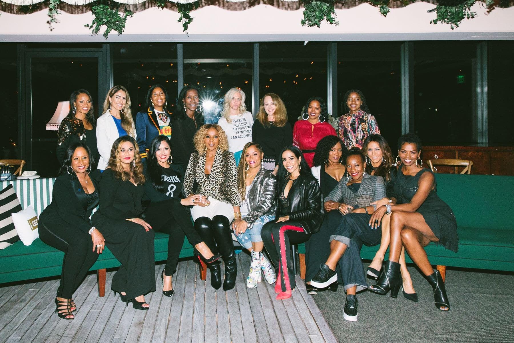 "Mary J  Blige and Simone I  Smith Host a ""Night of Sisterhood"""