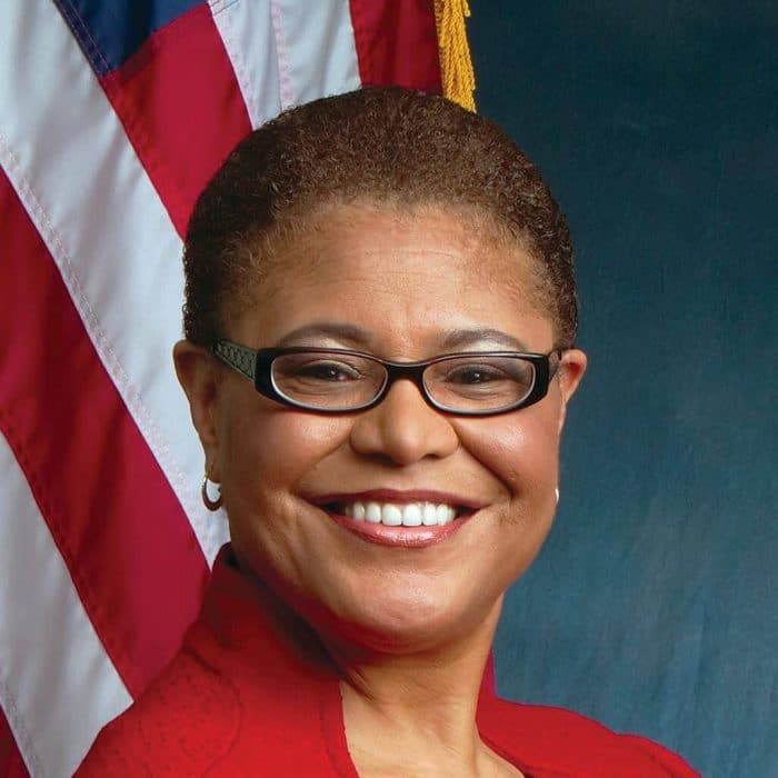 Rep. Karen Bass, Democratic Candidate For California's 37th District