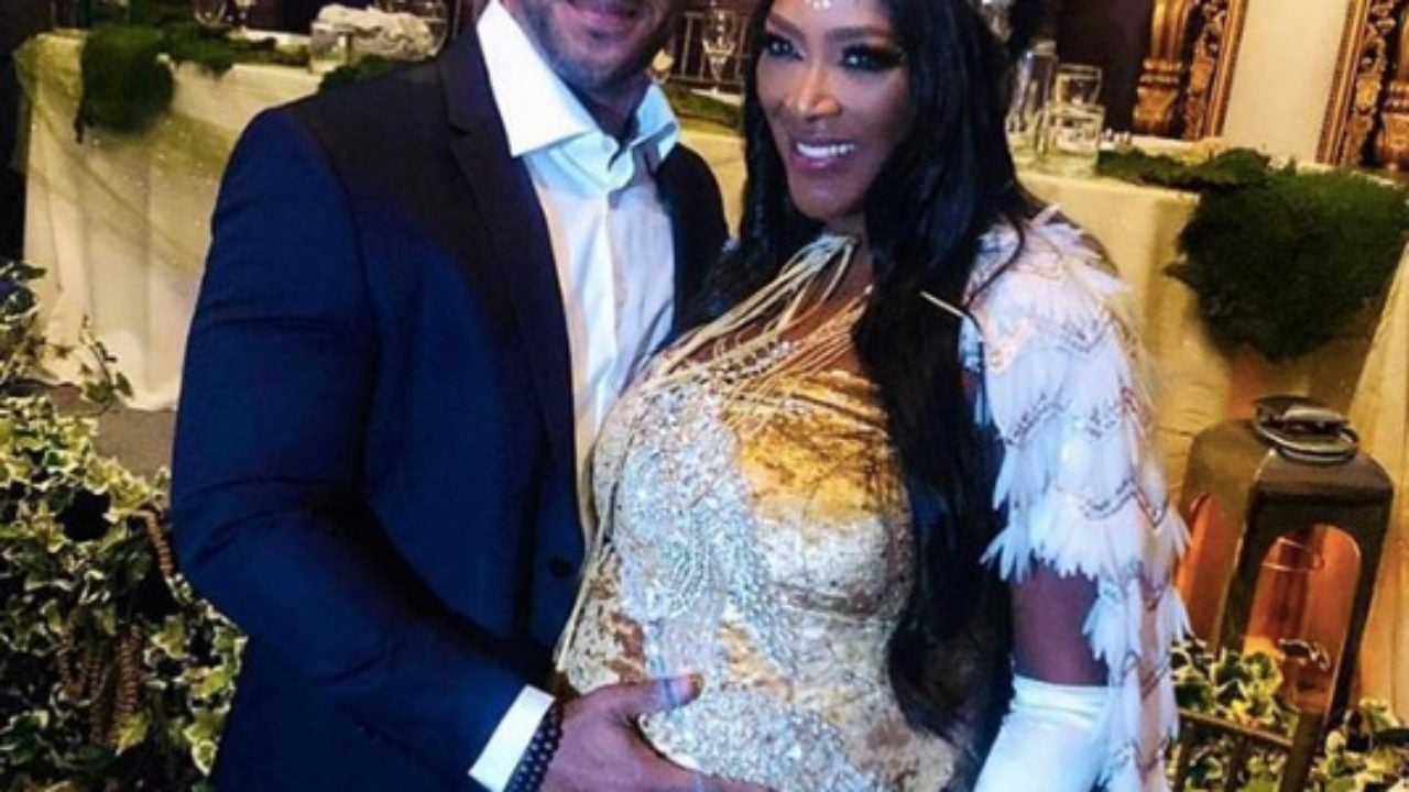 Kenya Moore and Marc Daly Celebrate Pregnancy With Regal Baby Shower