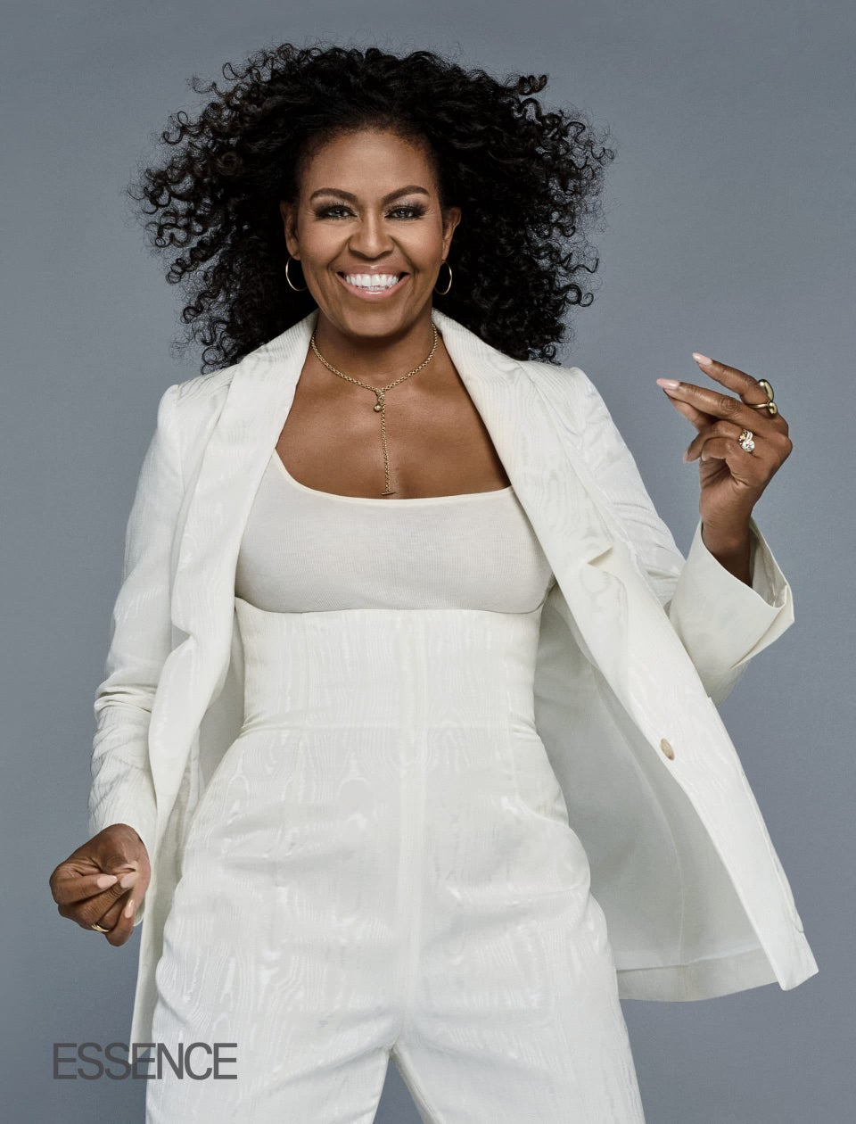 Watch #InMyFeed: Michelle Obama's Rockin' Her Natural Curls For The First Time On The Cover Of ESSENCE