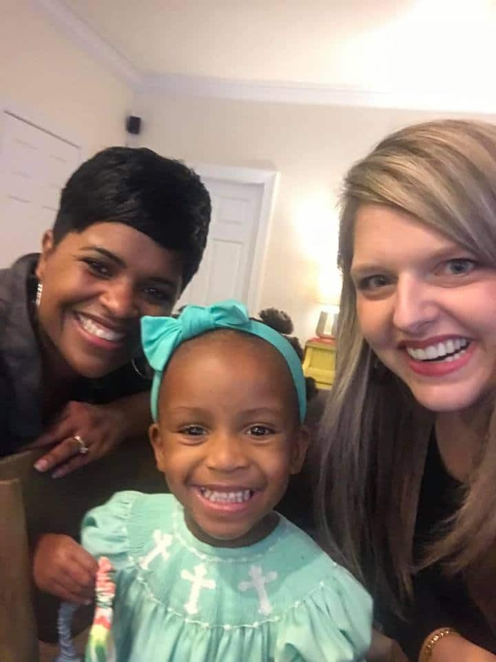 Monica Hunter Is The Real MVP For Teaching A White Mom How To Care For Her Adopted Black Daughter's Hair