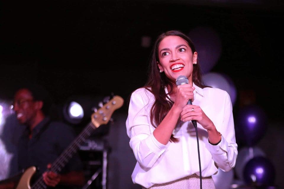 Alexandria Ocasio-Cortez Breaks From Democrats, Votes Against Funding ICE
