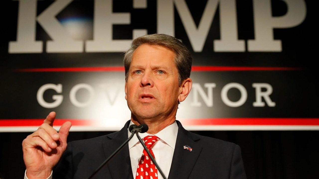 Brian Kemp Declares Victory In Georgia's Gubernatorial Race Against Stacey Abrams