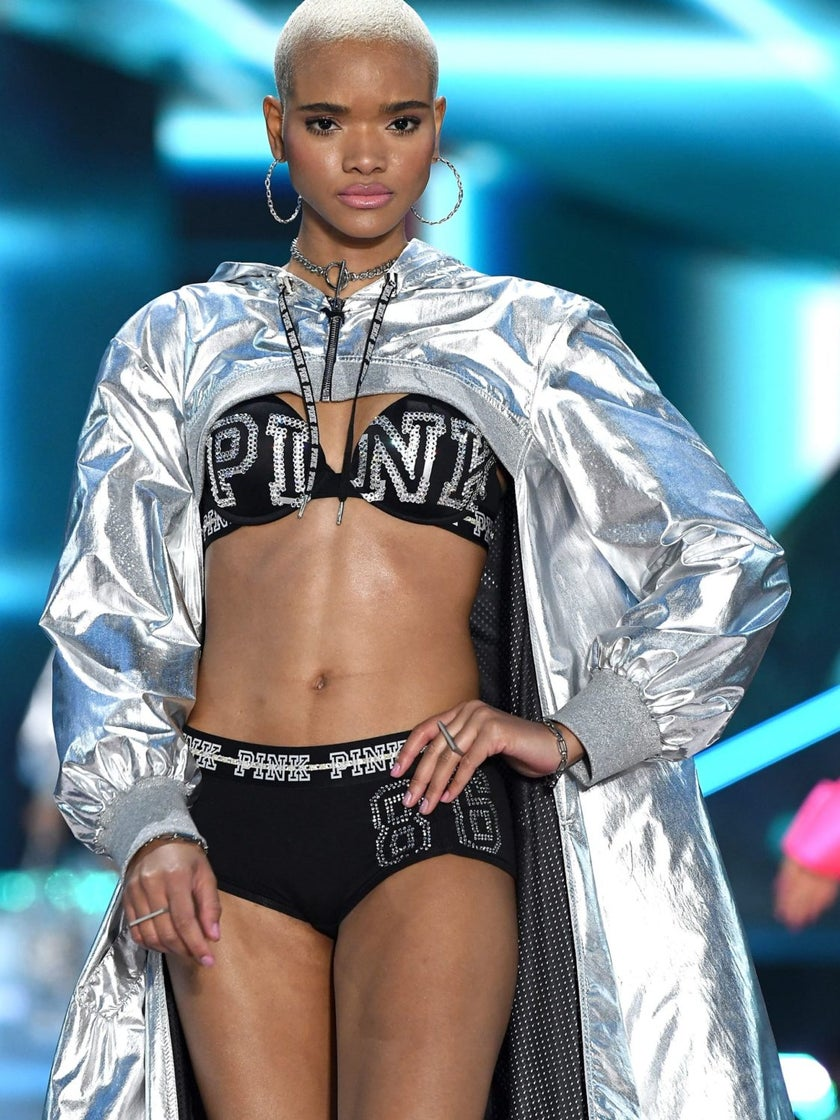 From Tomboy To Top Model, Victoria's Secret Star Iesha Hodges Shares Her Fashion Story