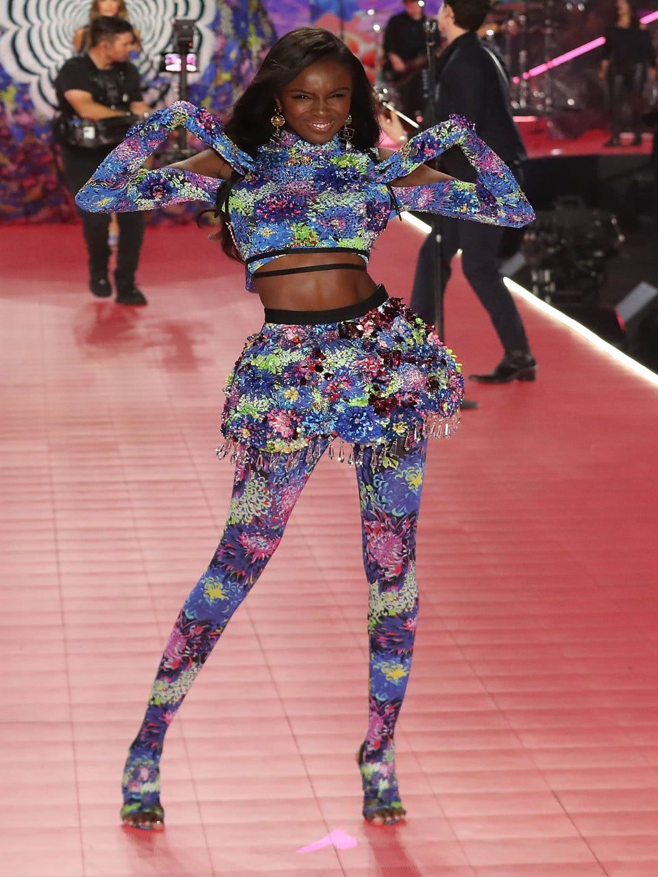 All The Black Models Who Slayed The Victoria's Secret Fashion Show