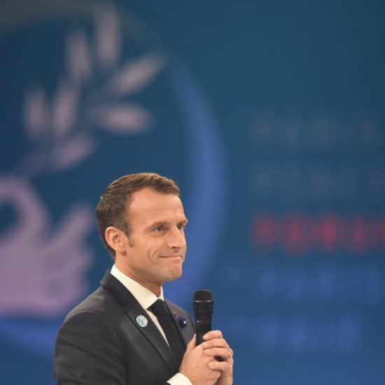 French President Emmanuel Macron Isn't Here For Trump's Twitter Diplomacy