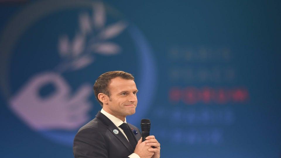 French President Emmanuel Macron Isn't Here For Trump's Twitter Diplomacy