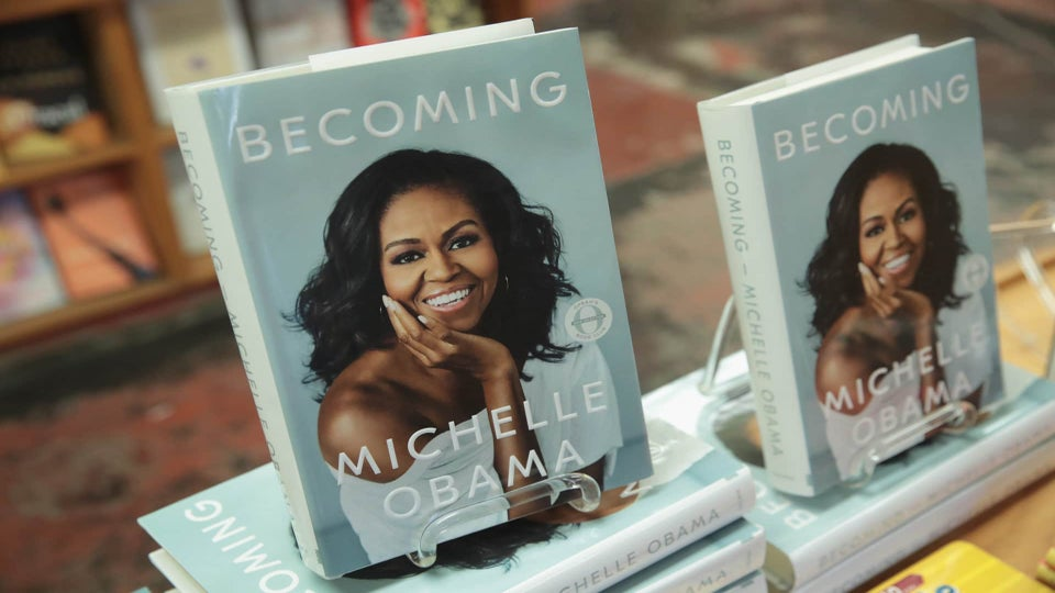 Michelle Obama's 'Becoming' Is Selling Nine Copies Per Second