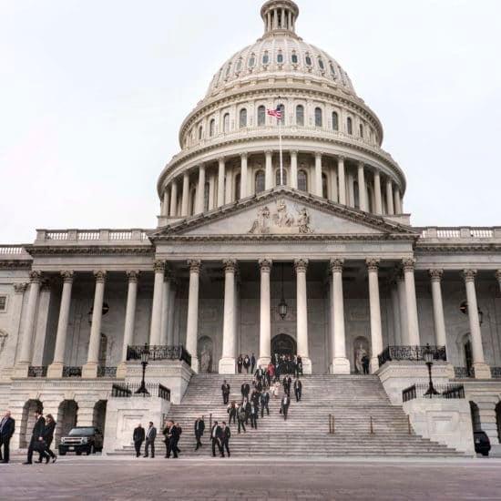 U.S. Government Moves Closer To Shutdown